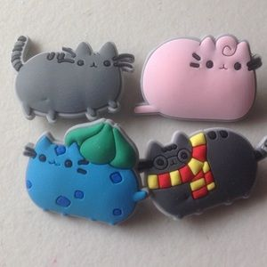 Accessories - PUSHEEN Character pins-